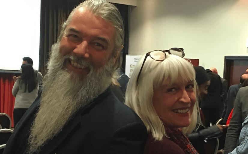 Andy Gwynn & Mary Collin