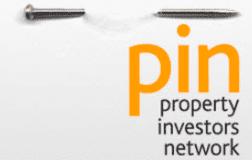 pin logo with pin