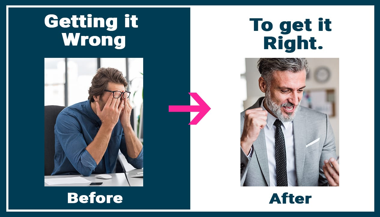 Getting it wrong to get it right